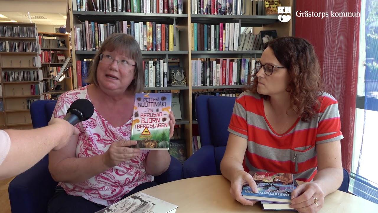 Bibliotekariernas Boktips For Semestern Grastorps Kommun Vecka 26 2019