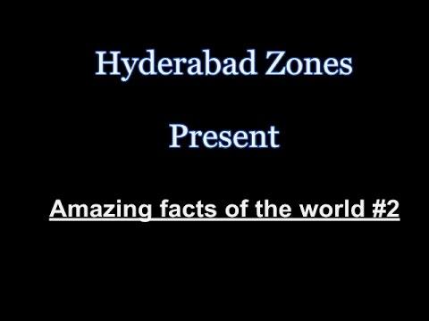 10 Amazing Fact of the World #2   Hyderabad Zones