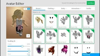 Buying Clothes for My New Character in Roblox - Pucca Gamer