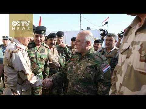 Iraqi prime minister visits Mosul frontline, says liberation is close