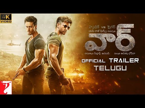 తెలుగు: War Trailer | Hrithik Roshan, Tiger Shroff, Vaani Kapoor | Telugu Version | 4K Video