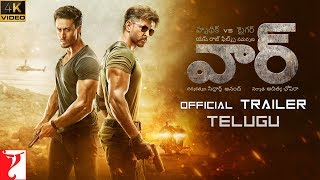 తెలుగు: War Trailer | Hrithik Roshan, Tiger Shroff, Vaani Kapoor | Telugu Version | 4K Video | 2 Oct