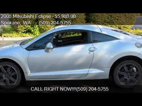 2008 mitsubishi eclipse gt 2dr hatchback for sale in spokane youtube youtube