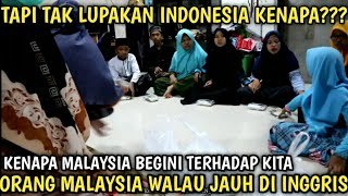 SUBHANALLAH RAKYAT MALAYSIA WALAU DIMANA BERADA TAPI TAK PERNAH LUPAKAN INDONESIA