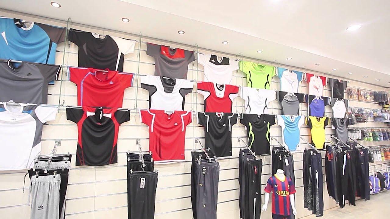 8b1c69336 افتتاح محل الجزيرة لبيع المستلزمات الرياضة - YouTube