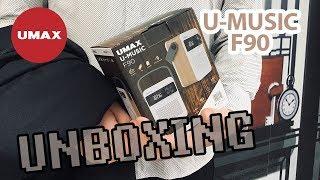 Rozbalení UMAX U-Music F90 / UNBOXING Bluetooth speaker and FM radio