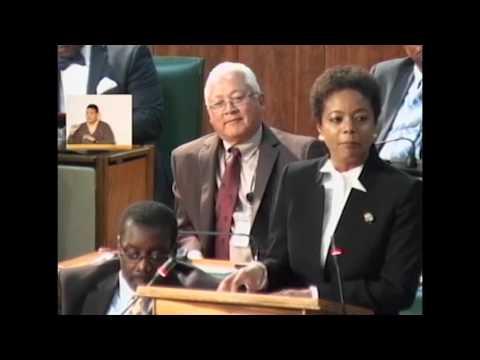 Sectoral Debate Presentation by Hon. Marlene Malahoo Forte  July 5, 2016