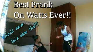 The Best Prank Ever On Watts Gone wrong 😅😥cutest couple in kenya