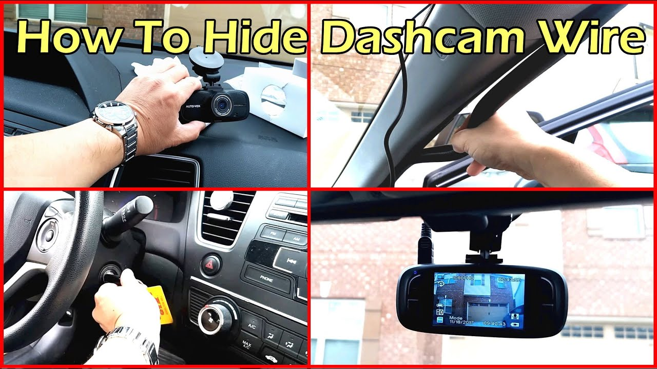 how to hide your dash cam wiring for clean install [ 1280 x 720 Pixel ]