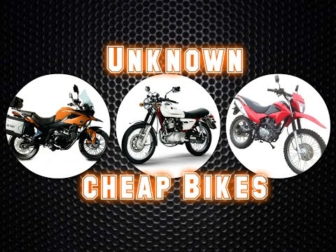 Affordable Motorcycles You've Never Heard Of