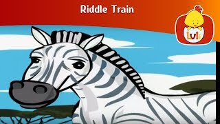 Riddle Train 7, for kids - Fun educational animation