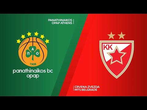 Panathinaikos OPAP Athens - Crvena Zvezda mts Belgrade Highlights   EuroLeague, RS Round 30