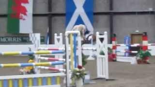 Hugh Davies Delflip. Scottish Home Pony International. Team Wales