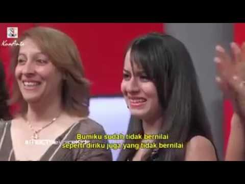 Ghina Bou Hamdan (subtitle Indonesia) - A'thuna Al Thoufuli (kembalikan Masa Kecil Kami)