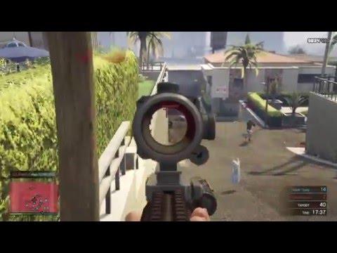 GTA Online Deathmatch : Downtown FPS