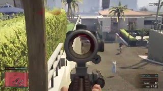 GTA Online Deathmatch : Downtown FPS