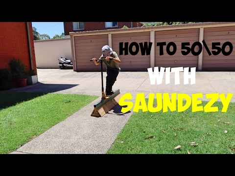 HOW TO 50\50 A SCOOTER (easiest way)