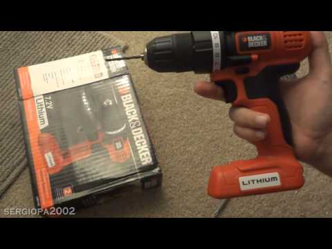 Review of the Black & Decker LDX172C Lithium Cordless Drill and Screw Driver