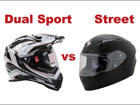 Dual sport or Street helmet - Which one is better?