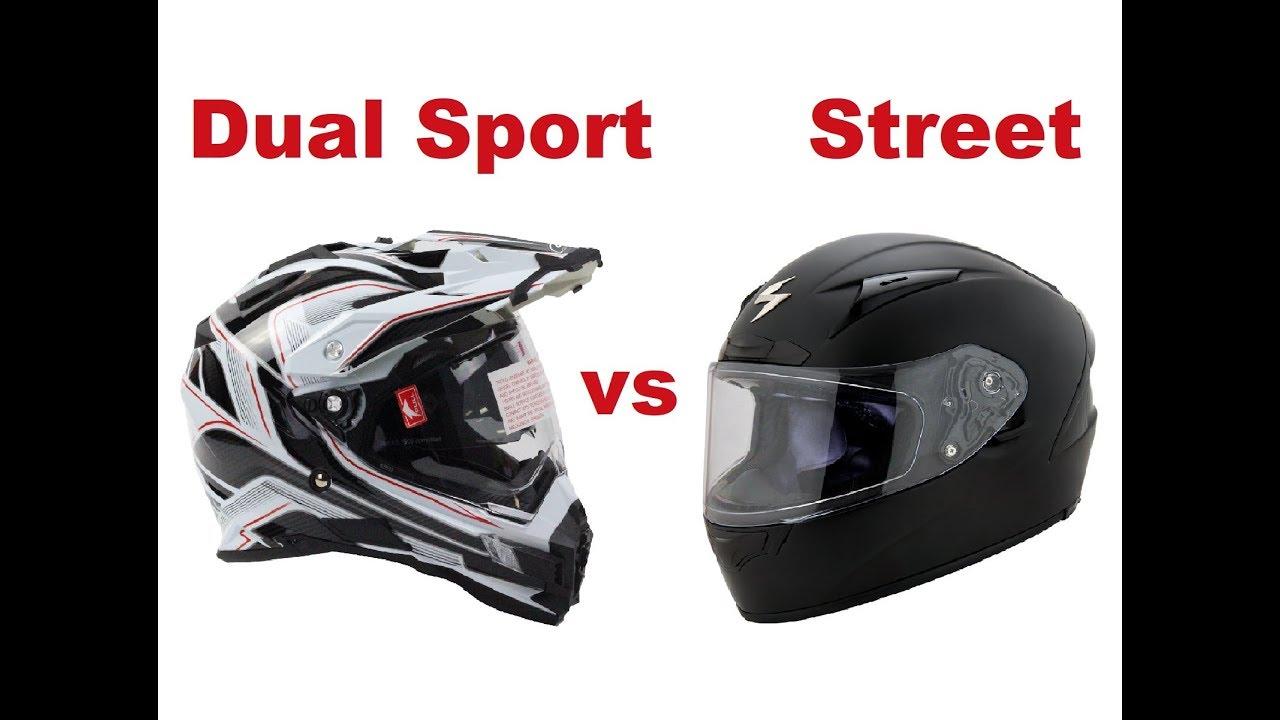 Dual Sport Or Street Helmet Which One Is Better Motorcycle Adventures