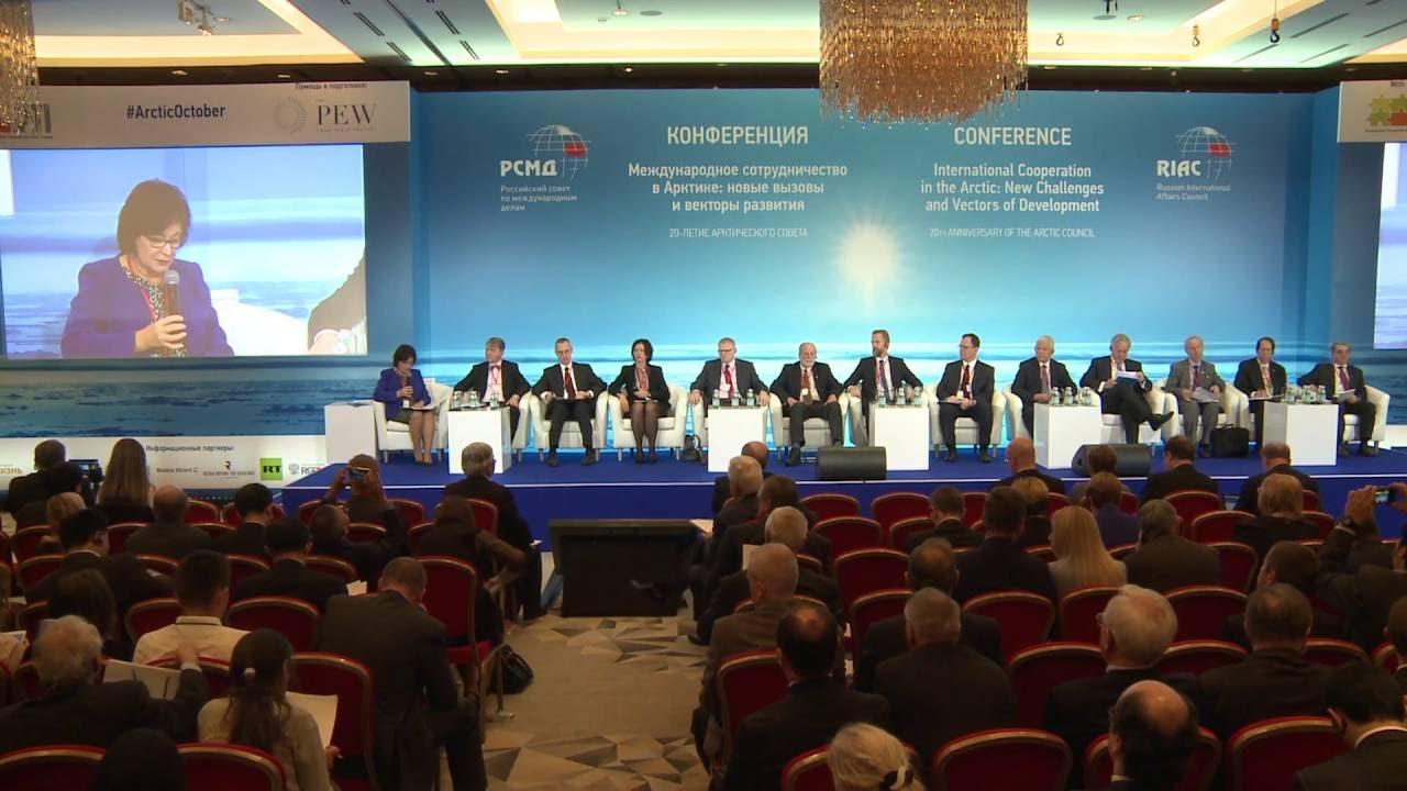 Конференция #ArcticOctober. Роль Арктического совета