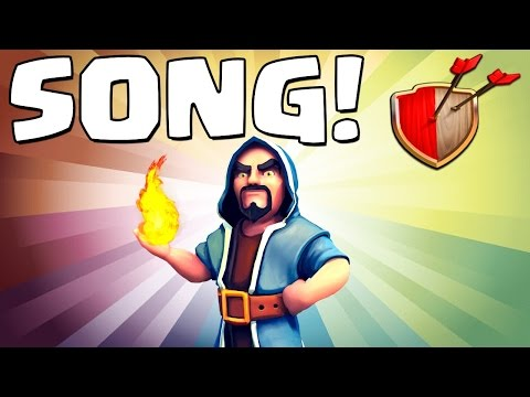 """Clash of Clans """"WIZARD SONG!"""" Clash of Clans Track 7/10 New Album!"""