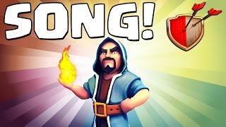 "Clash of Clans ""WIZARD SONG!"" Clash of Clans Track 7/10 New Album!"