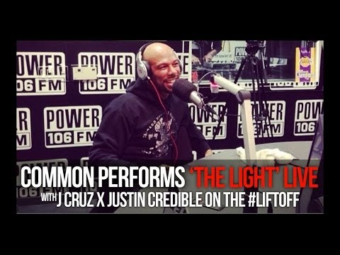 Common performs 'The Light' in-studio at POWER 106