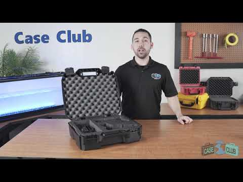 Case Club 2 Pistol Accessory Carry Case - Overview - Video