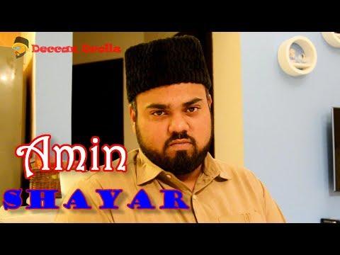 Dr khatre jaan 4...feat Amin shayar || Deccan Drollz || shayari comedy