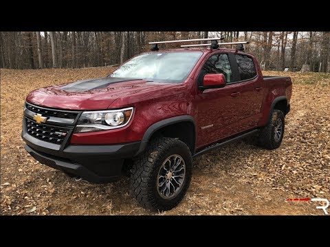 2018 Chevrolet Colorado Zr2 The Off Road King Of Small Trucks