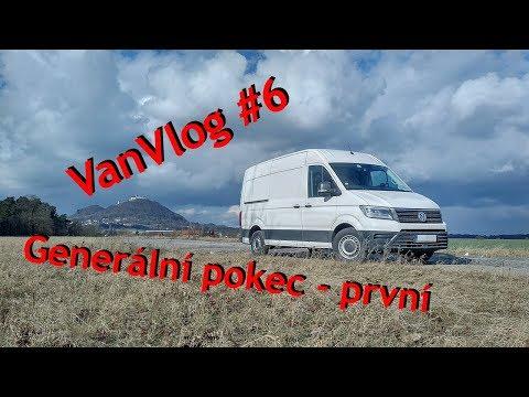 Na Cestách | VanVlog #6, Generální pokec - první