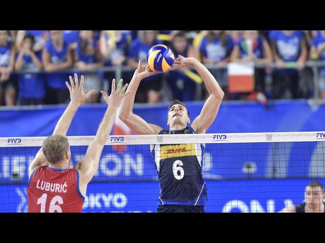 Qualificazioni olimpiche, le azioni più belle dei giocatori di Trentino Volley
