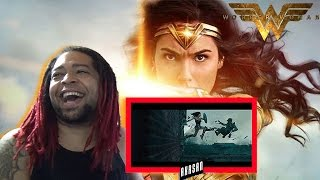 WONDER WOMAN – FINAL TRAILER - Rise of the Warrior | REACTION!! (PLEASE BE GOOD!!)