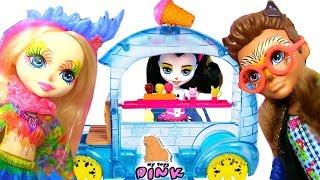 СВИДАНИЕ ENCHANTIMALS FIRST DATE ИГРАЕМ В #КУКЛЫ ЭНЧАНТИМАЛС МУЛЬТИК С ИГРУШКАМИ | My Toys Pink
