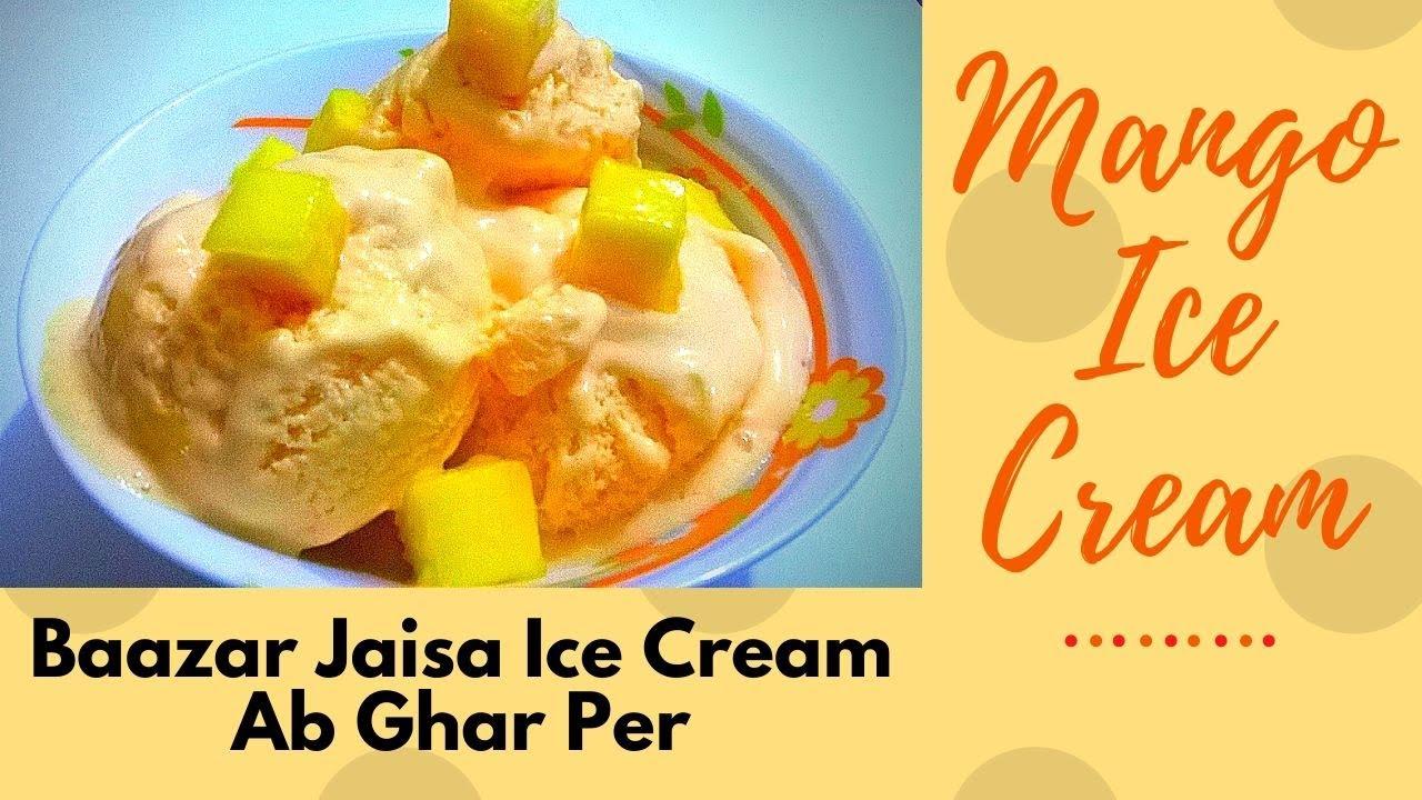 How To Make Mango Ice Cream Cake