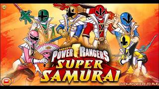 Colorful game - Power rangers samurai first morph part 1