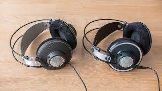 AKG K612 pro vs AKG K702 - sound demo