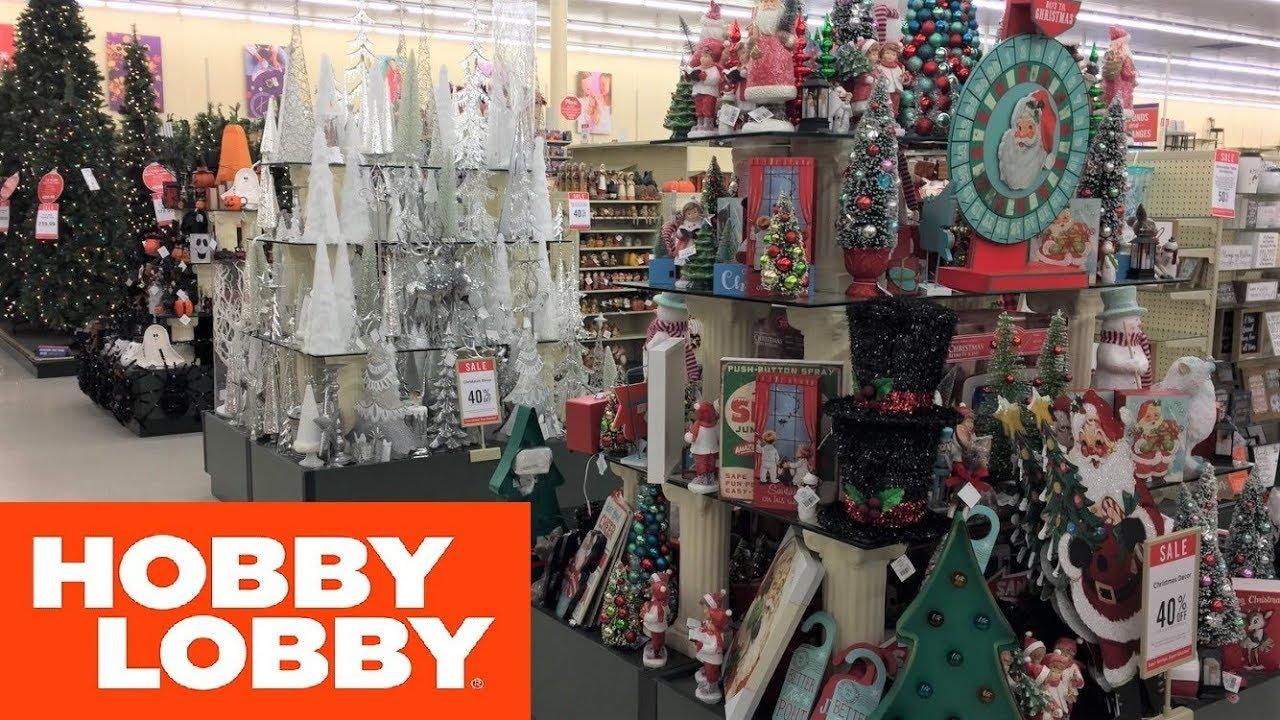 Christmas Decorations Near Me.Hobby Lobby Christmas Decorations Trees Home Decor Shop With Me Shopping Store Walk Through 4k