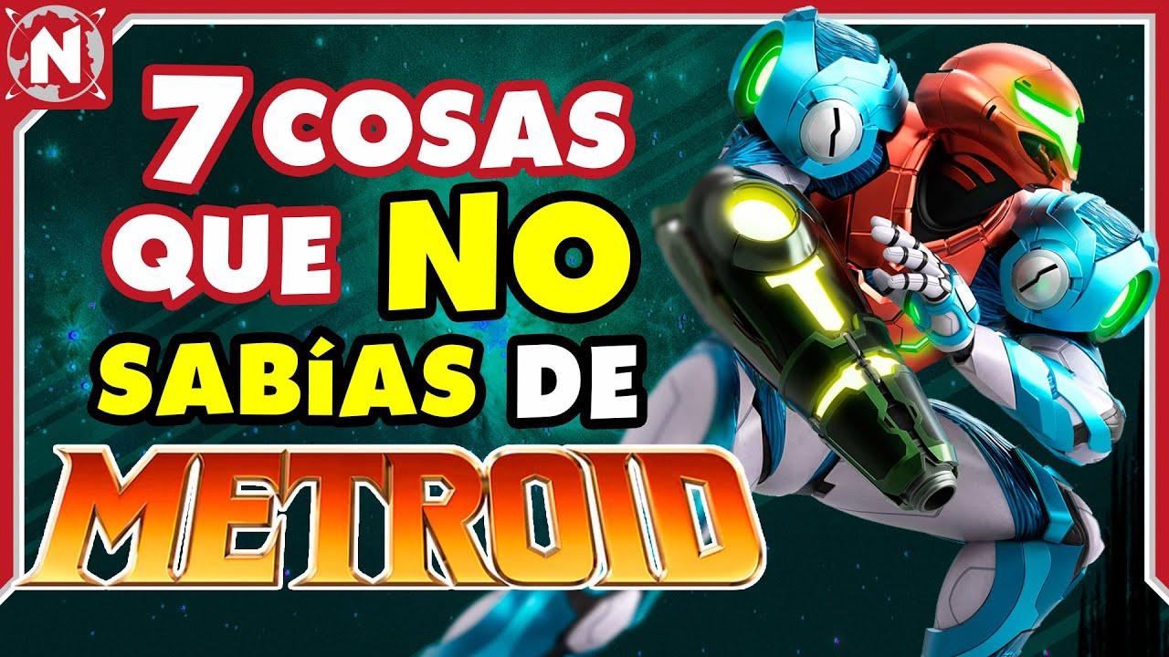 7 COSAS que NO SABÍAS de Metroid