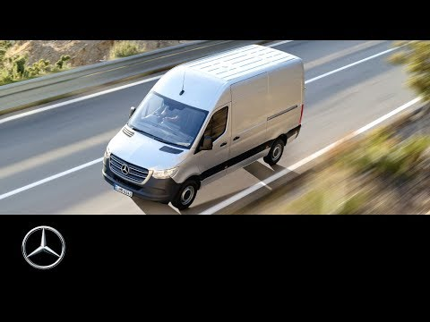 World premiere of the new Mercedes-Benz Sprinter