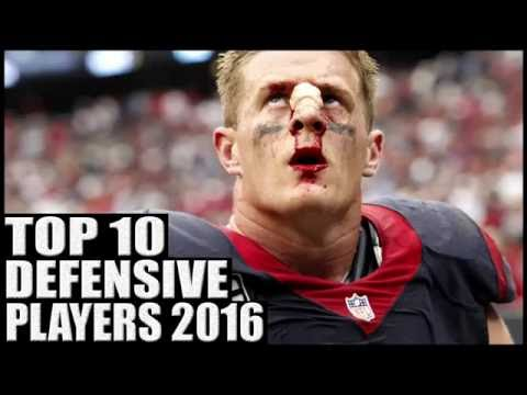 Top 10 Best Defensive Players in the NFL 2016
