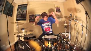 Chris Dimas - Blow Me Away - Breaking Benjamin (Drum Cover)