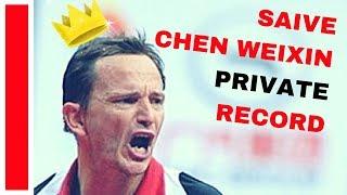 SAIVE Jean Michel - WEIXIN Chen Private Record LEGENDS TOUR 2018 TABLE TENNIS