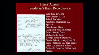 African American Genealogical Research at the National Archives - Damani Davis