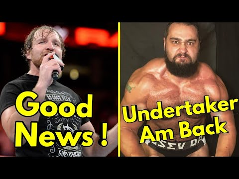 Dean Ambrose Return Update | Winner Prize Revealed Greatest Royal Rumble | Undertaker VS Rusev Back
