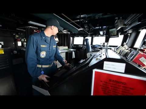 USS Gravely DDG 107 operating in the Eastern Mediterrainean