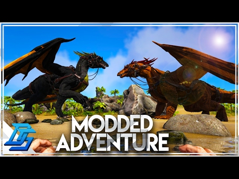 Ark Survival Evolved - Heavy Modded Server Pt.1 - Beginning
