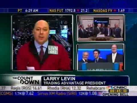 Larry Levin on CNBC 2-25-10