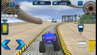 4x4 Monster Truck: Impossible Stunt Driving - Android GamePlay FHD 1080p / Offline kids Games